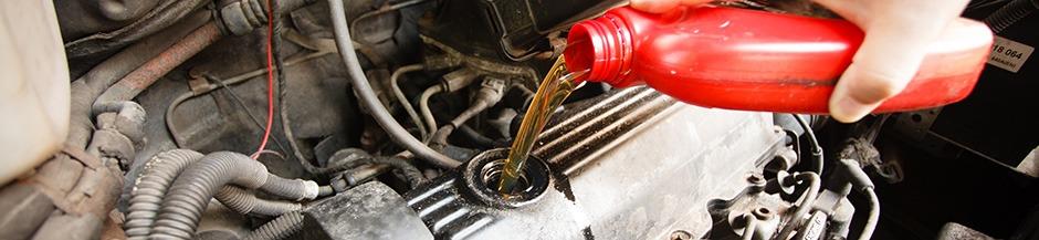 Oil change at our dealership in Lindsay Dodge